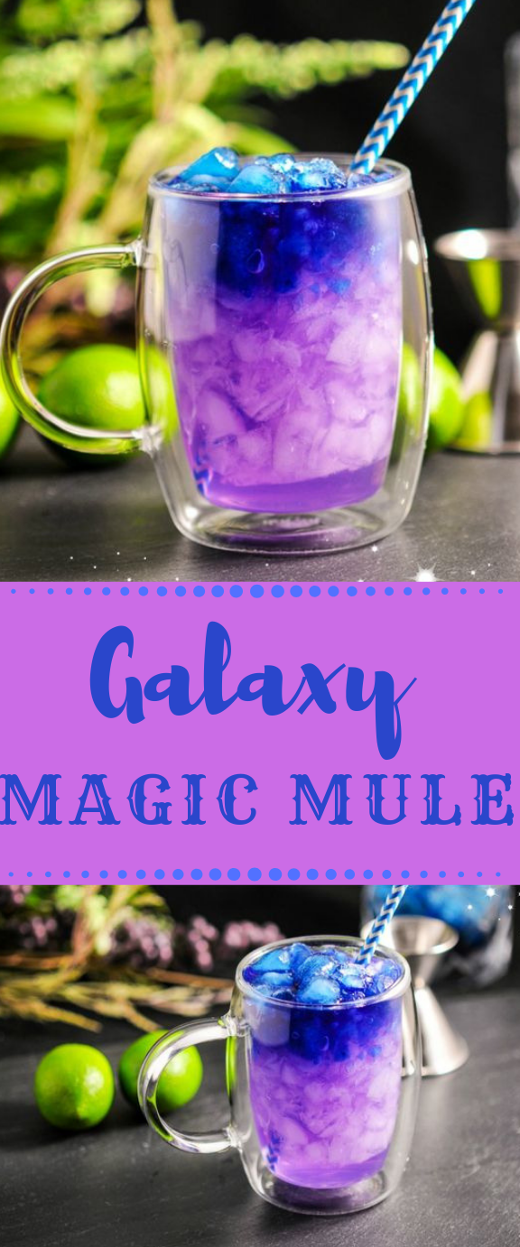 THE GALAXY MAGIC MULE #drink #mule #galaxymagic #cocktail #party