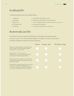 Apoyo Primaria Ciencias Naturales 3ro Grado Bloque II Evaluación