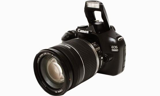 Harga dan Spesifikasi Kamera Digital SLR Canon EOS 1100D Terbaru