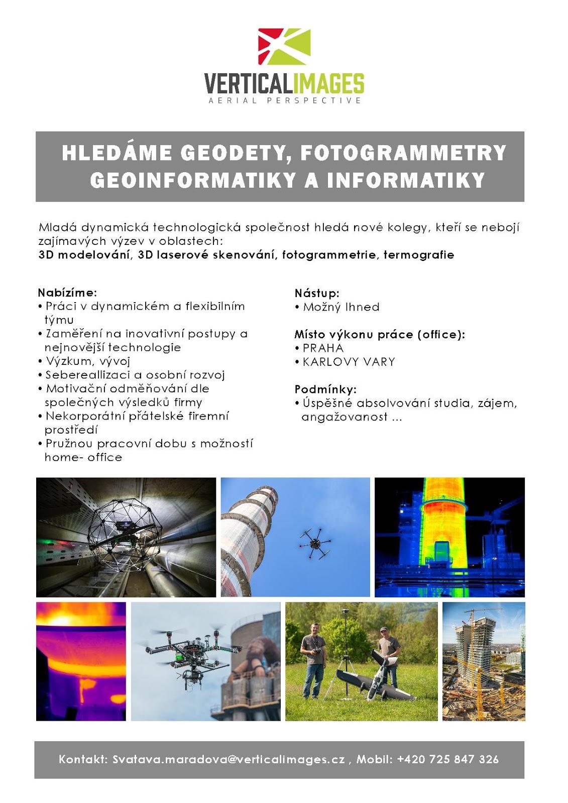 8fdd827b5 ... především pro práci v oblastech 3D modelování, 3D laserového skenování,  fotogrammetrie a termografie. Více informací naleznete na přiloženém  obrázku .