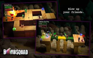 Bomb squad mobile game