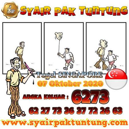 Prediksi Pak Tuntung SGP Rabu 07 Oktober 2020