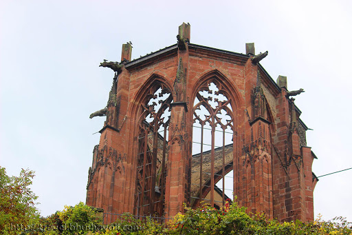 Ruine Wernerkapelle - Ruins of St.Werner's Church
