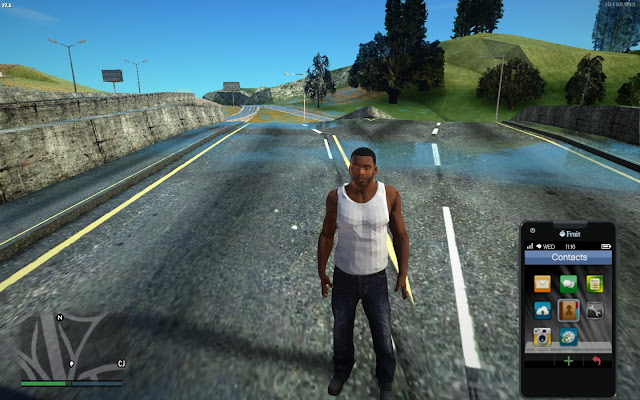 GTA San Andreas GTA 5 Mod Pack Game Setup Free Download