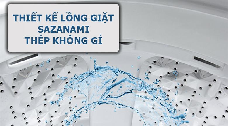 Lồng giặt Sazanami - Máy giặt Panasonic 8.5 kg NA-F85A4HRV