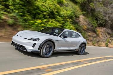 Porsche Mission E Cross Turismo comes on mass production line