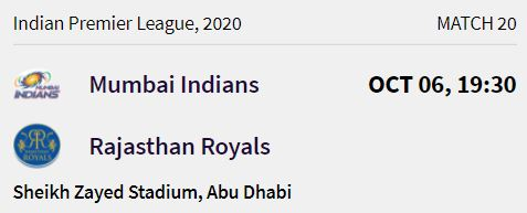 rajasthan-royals-match-5-ipl-2020