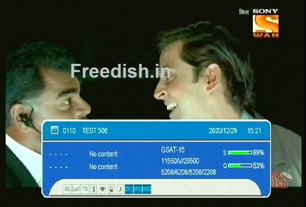 सोनी वाह चैनल आ गया फिर से चैनल नंबर 80 पर, Sony Waah ki channel number kya hai