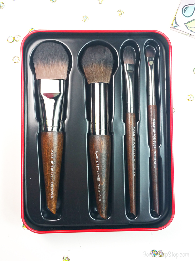 gift guide beauty tools and grooming tools holiday 2016 make up for ever artistic brush set