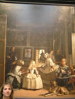 Las meninas de Velázquez. Museo del Prado, Madrid.