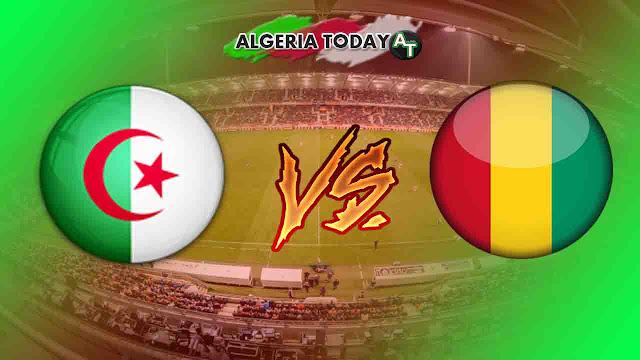 مباراة الجزائر غينيا كأس أفريقيا 2019