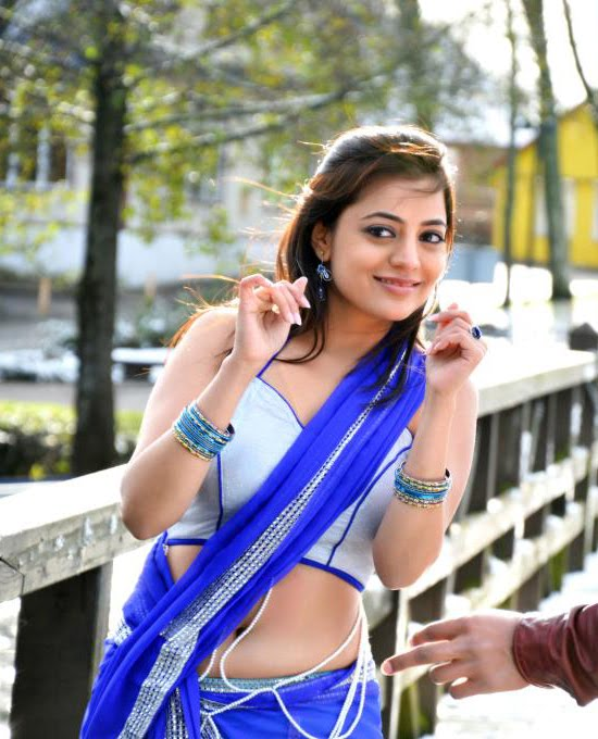 Nisha Agarwal Navel Exposing In Saree Stills