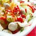 Peynir Topları ve Cevizli Salata