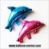 Balon Foil Ikan Dolphin Mini