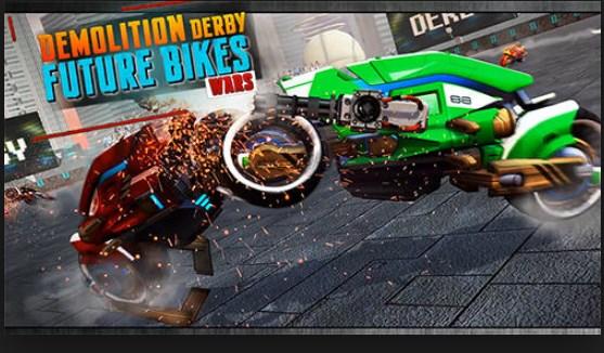 Demolition Derby Future Bike WarsApk Free on Android Game Download