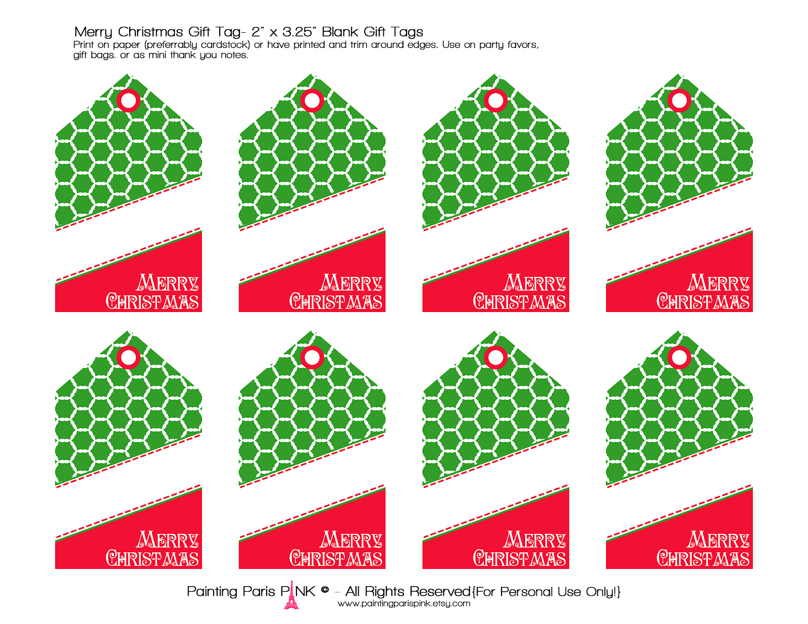 """Search Results for """"Blank Christmas Tags Printable ..."""