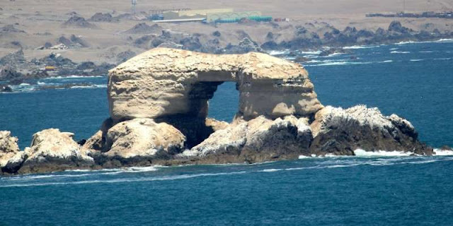 """La Portada"" Natural Monument in Antofagasta, North of Chile."