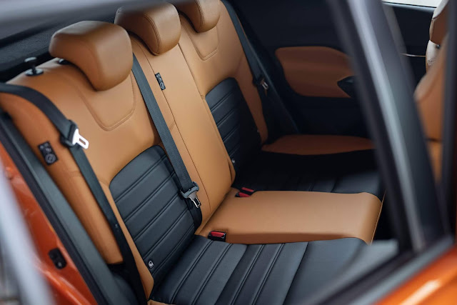 Novo Nissan Kicks 2021 - espaço traseiro