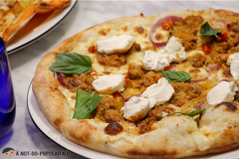 Rendang Classic of Pizza Express