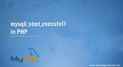 PHP mysqli_stmt_execute() Function