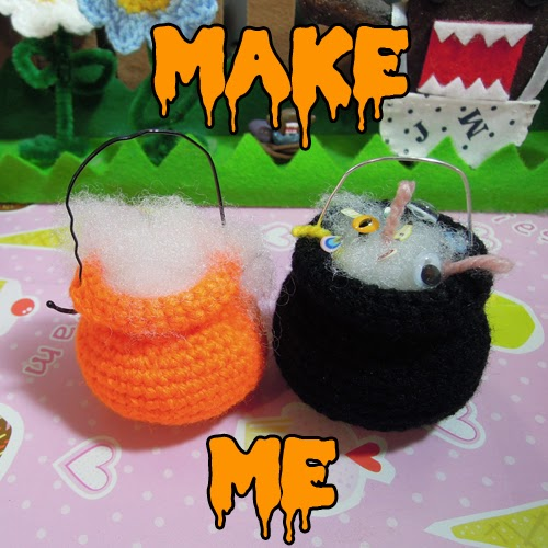 How To Make A Halloween Charm Amigurumi Bat - DIY Crafts Tutorial ... | 500x500