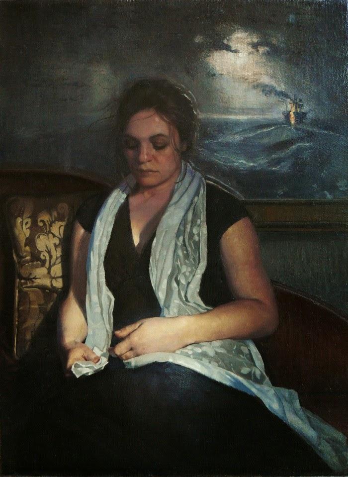Современная фигуративная живопись. Richard Thomas Scott