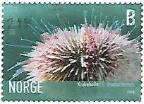 Selo Ouriço-do-mar-verde