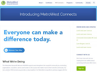 FANN recommended action -> create your nonprofit entry in MWConnects