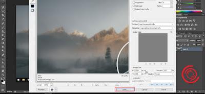 Ubah format dan kualitas di bagian Preset jika perlu lalu tekan Save