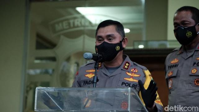 Kapolda Metro Larang Anggota Jumpa Pers Bawa Senpi Laras Panjang
