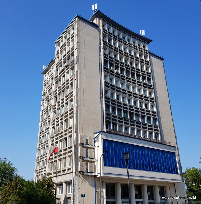 Warszawa Warsaw Żoliborz architektura architecture modernizm lata 50.Instytut Chemii Przemysłowej Stanisław Kolendo