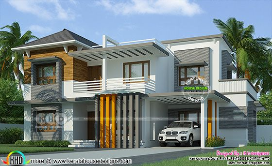 Contemporary 4 bedroom grand house