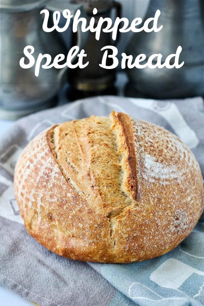Whipped Spelt Bread
