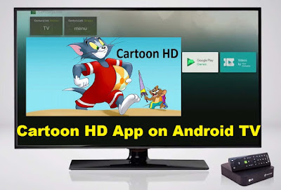 cartoon hd for android tv