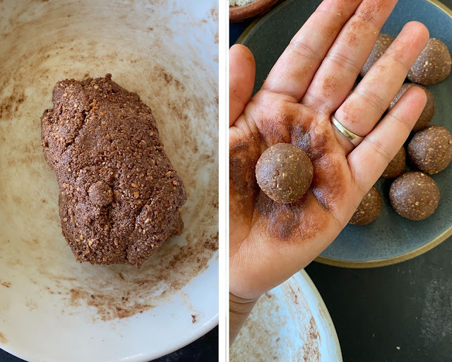 Steps for Easy Marie Chocolate Truffles-4