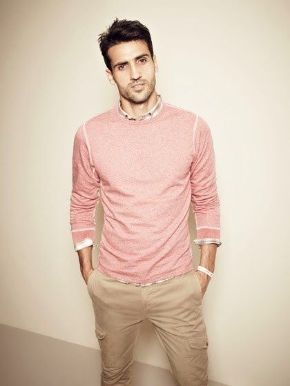 look rosa masculino