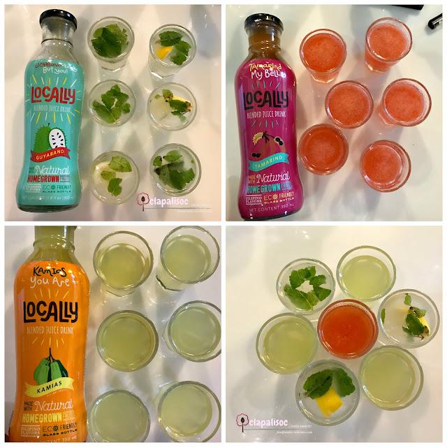 Locally PH Juices