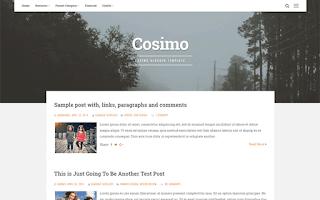 cosimo blogger template responsive