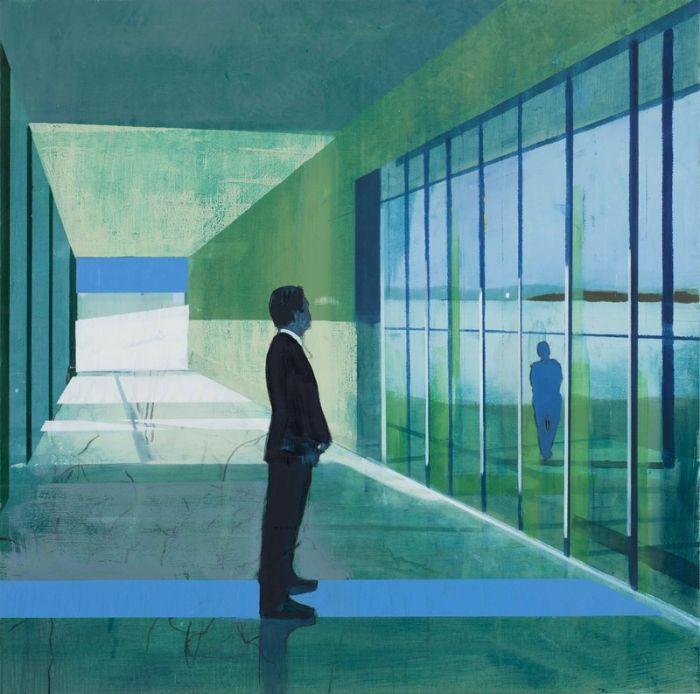 Миры, полные одиночества. Норвежский художник. Kenneth Blom