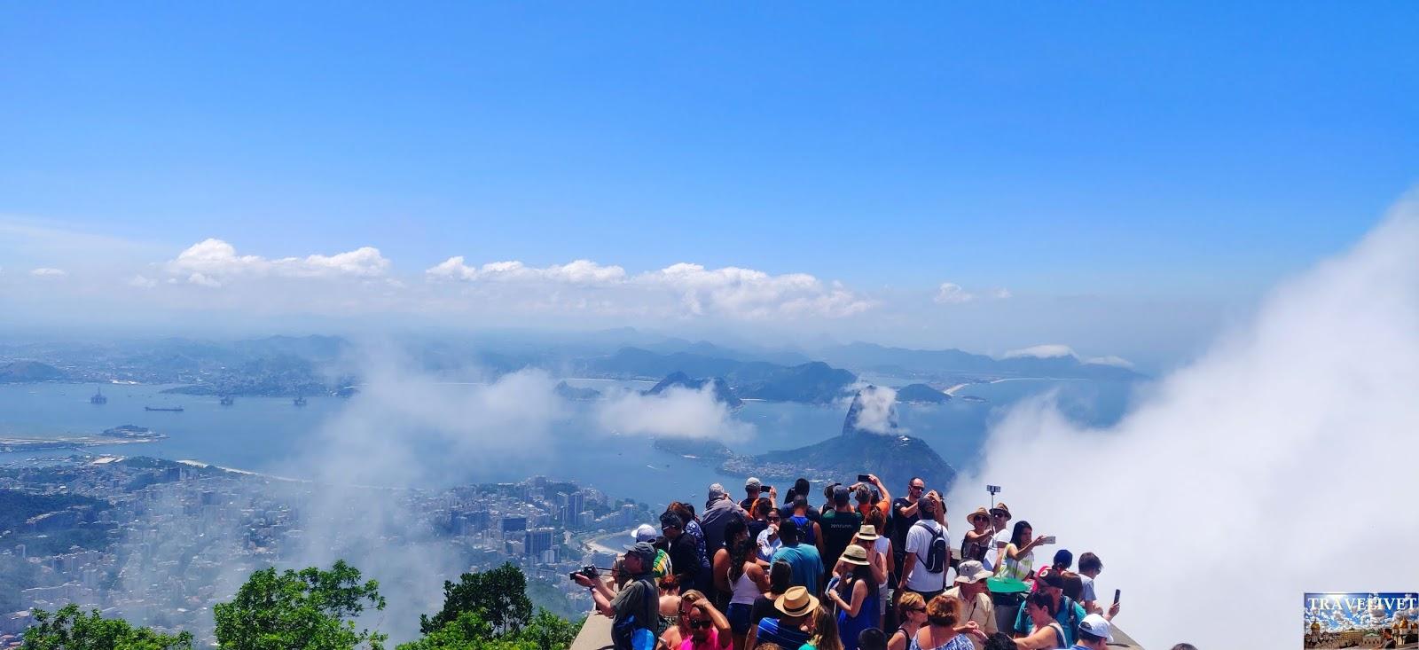 Brésil Rio de Janeiro Christ Rédempteur panorama