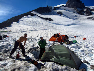 Our camp at Muir.
