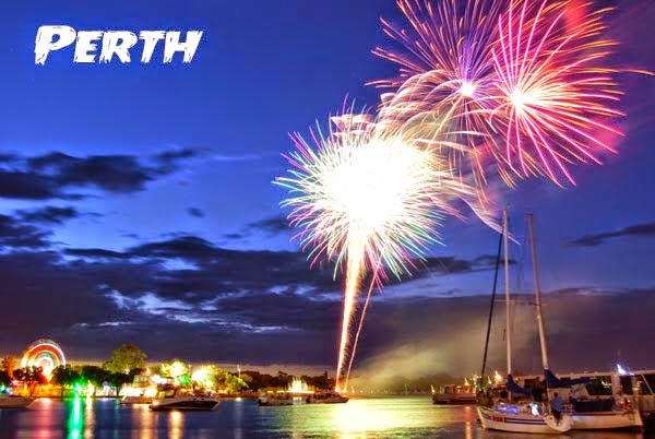 Happy New Year Eve Fireworks Images 2018 perth