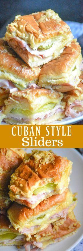 Cuban Style Sliders Recipe