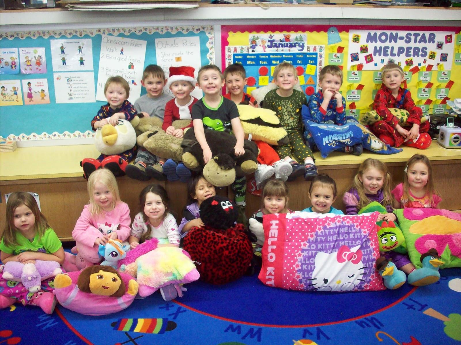 Newell Fonda Preschool Pajama Party