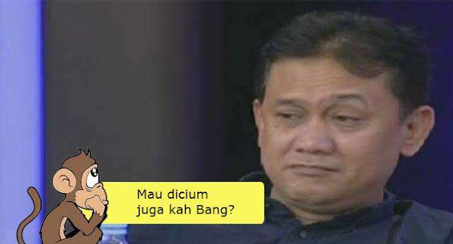 Beredar Gambar Meme Prabowo 'Dicium' Kuda, Denny Siregar Marahi Pembuatnya, Netizen Ngakak Terbahak-bahak