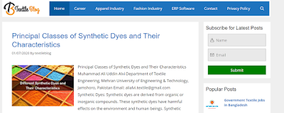 Top Listed Textile Blogs and Websites on the Web | Textile Blog