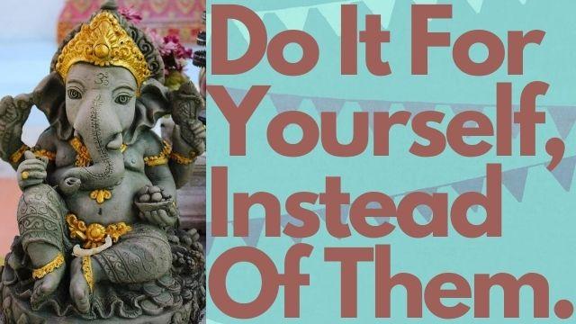 Positive-Thinking-Ganesha-Status