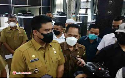 Walikota Medan Bobby Nasution Tegaskan Urus IMB di Kota Medan Maksimal 21 Hari Siap