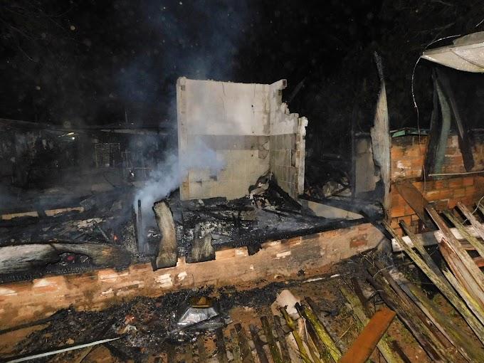 Alta Floresta: Atualizado, mais uma casa pega fogo na cidade