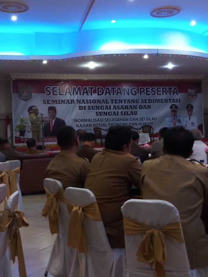 Asahan dan Tanjung Balai Gelar Seminar Nasional tentang Sedimentasi Sungai Asahan dan Silau